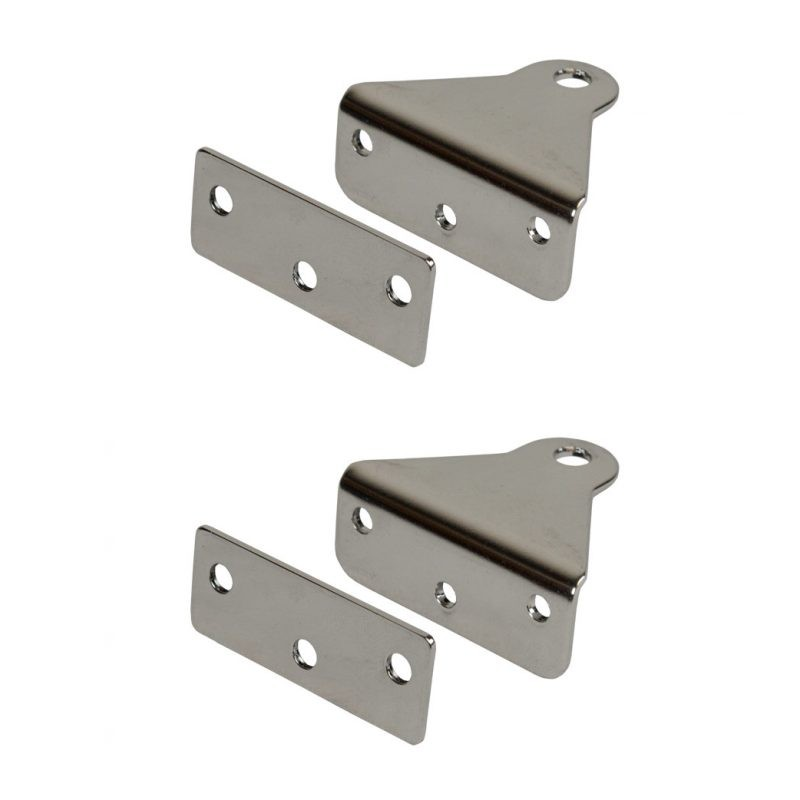Transom Gudgeons With Backing Plates