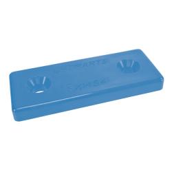 Placa de nylon azul