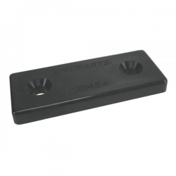 Placa nylon negro