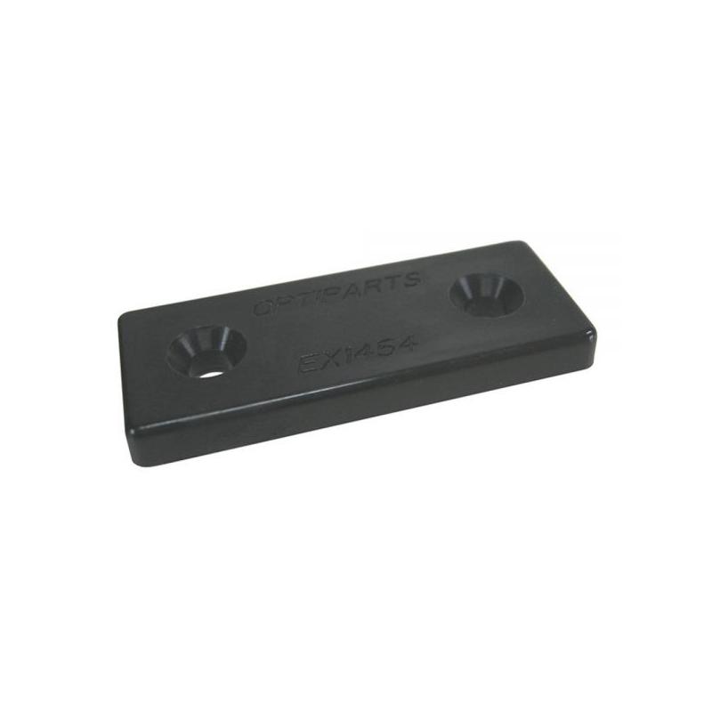 Nylon mounting plate black
