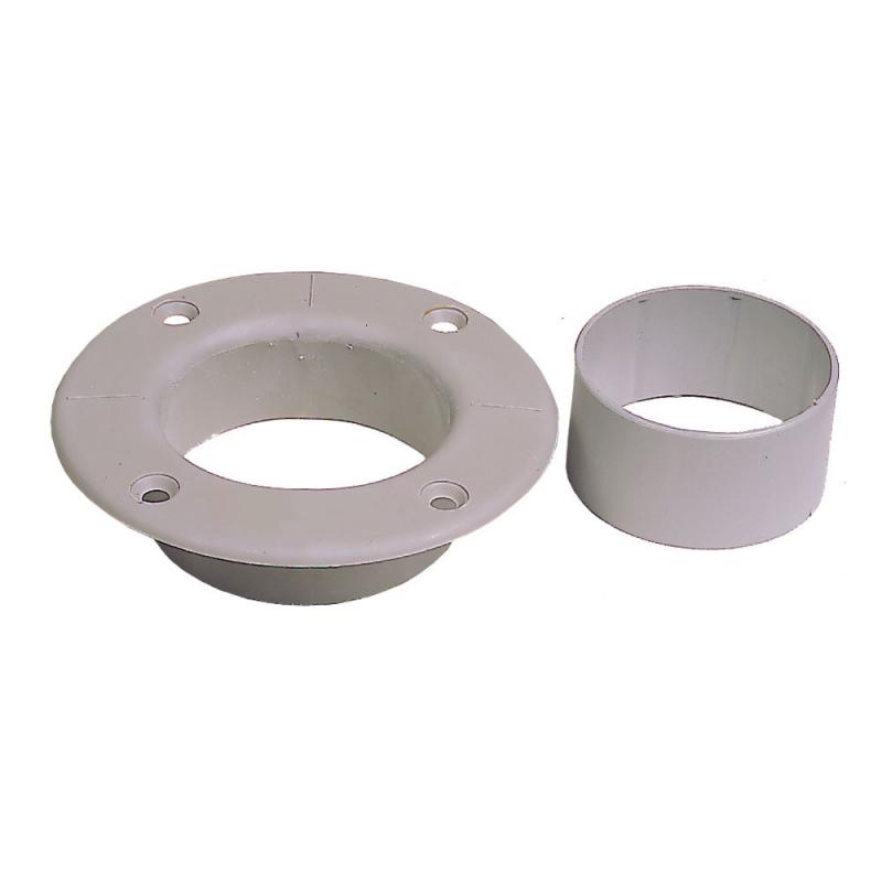 Deck collar with mast sleeve