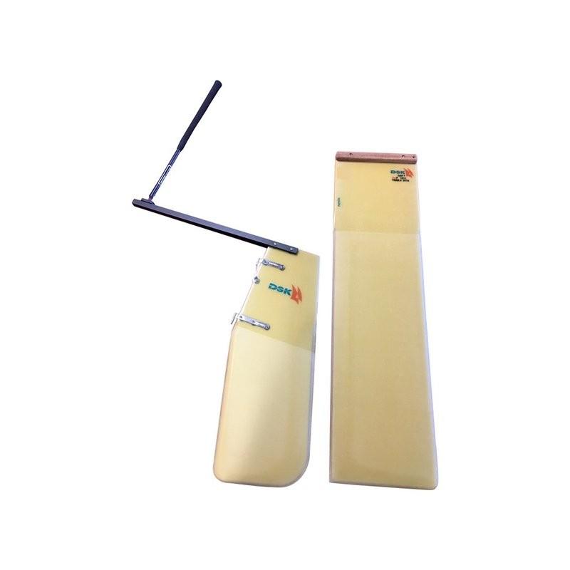 rudder and daggerboard